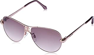 Roberto Cavalli Women's RC883S Aviator Sunglasses Gold 61 mm