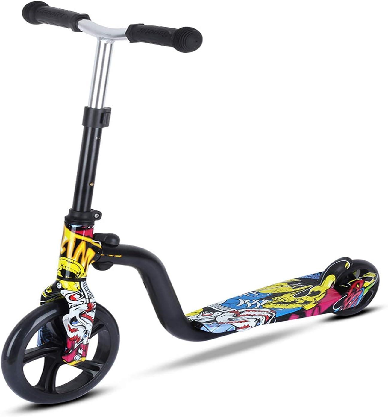 H&1 Patineta Junior Scooter, Adecuado para niños, Ruedas Grandes duraderas, Ruedas agrandadas, Pasa Suavemente por la Carretera, el Scooter es Adecuado para niños de