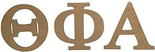 Theta Phi Alpha Sorority 7.5 Inch Unfinished Wood Letter Set Theta phi