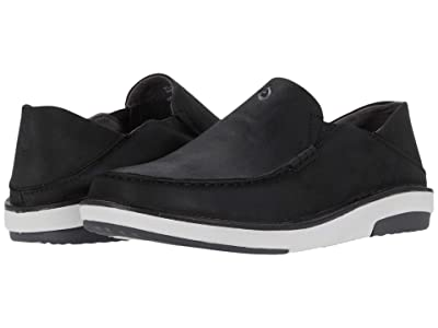 OluKai Kalia (Black/Black) Men