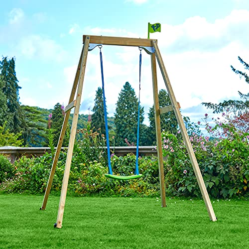 TP Toys Wooden Swing Frame (Forest Single)