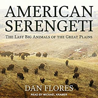 American Serengeti audiobook cover art