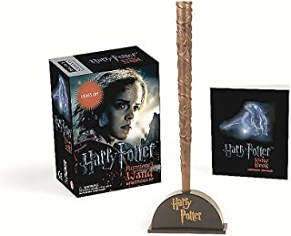 Harry Potter Hermione's Wand with Sticker Kit: Lights Up! (RP Minis)