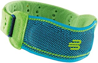 Bauerfeind Sports Knee Strap - Patella Support - Knee Strap Patellar Tendon Relief - Relieve Runners Jumpers Knee Shin Splints - Moisture Wicking Washable Material