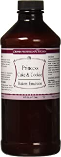 LorAnn Princess Cake and Cookie Bakery Emulsion, 16 ounce bottle
