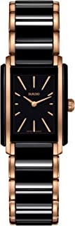 Rado Integral Quartz Watch with Ceramic Strap, Black, 21 (Model: R20194162)