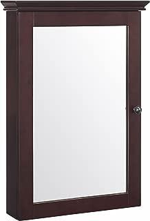 Crosley Furniture Lydia Mirrored Bathroom Wall Cabinet - Espresso