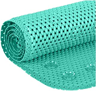 Deluxe Non Slip Shower Bath tub Soft Foam Rug, Mildew Resistant, Antibacterial, BPA, Latex, Phthalate Free, Bathtub Mat wi...