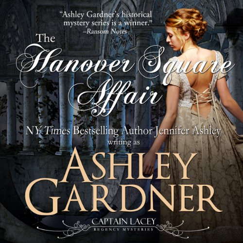 The Hanover Square Affair audiobook cover art