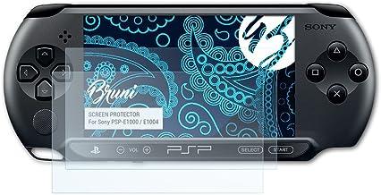 Bruni Película Protectora para Sony PSP-E1000 / E1004 Protector Película, claro Lámina Protectora (2X)