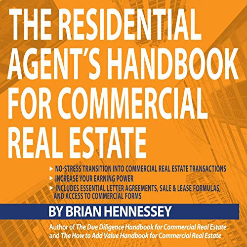The Residential Agent's Handbook for Commercial Real Estate audiobook cover art