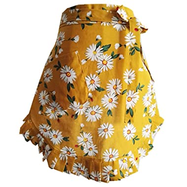 CRB Fashion Waist Pocket Half Bistro Kitchen Cooking Apron Fits Size XS to Large