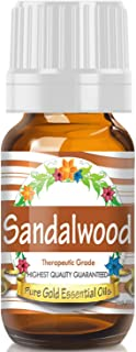 Pure Gold Sandalwood Essential Oil, 100% Natural & Undiluted, 10ml