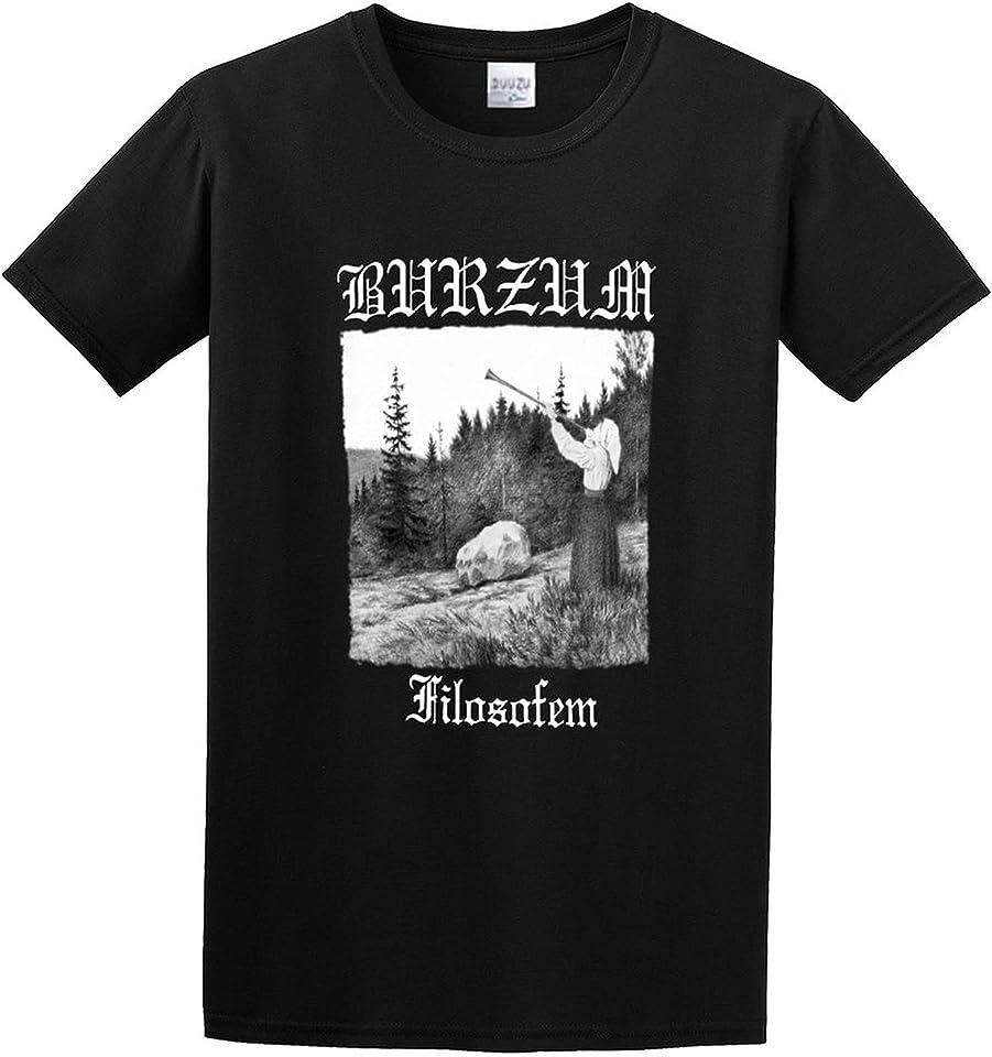 Burzum 'FilosOfem' Graphic Printed T-Shirt for Mens