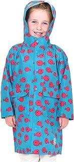 (グラニフ) graniph コラボレーション キッズ レインジャケット きんぎょがにげた グループ (五味太郎) (ブルー) キッズ (g38)
