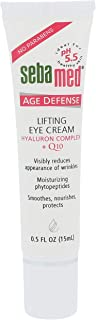 Sebamed Anti Aging Q10 Lifting Age Defense Eye Cream 15 mL pH 5.5 for Sensitive Skin Reduces the Appearance of Wrinkles - Made in Germany