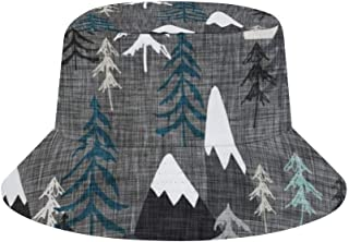JHGFG Travel Bucket Hats Boonie Cap Sun Cap Gorra de Verano al Aire Libre Entallada | UPF 50+
