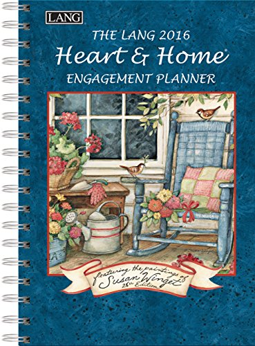 Lang Heart and Home 2016 Engagement Planner, Spiral Bound by Susan Winget, January to December 2016, 6.25 x 9 Inches (1011085)