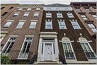 HDアルバニーニューヨーク-エルクストリート9036504の歴史的建造物(52x38cmの大人向けプレミアム500ピースジグソーパズル)