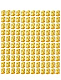 120 Pieces Gold Braid Beads 8mm Adjustable Metal Cuffs Hair Decoration Braiding Hair Jewelry