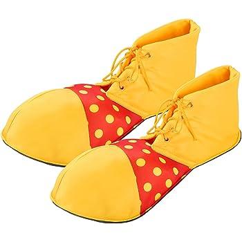 Amosfun Tamaño Medio Zapatos de Payaso Dot Disfraz de Halloween ...