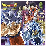 ERIK - Calendario de pared 2021 Dragon Ball, 30x30 cm, Producto Oficial (Incluye póster de...