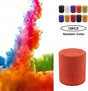 Foonee 10Pcs Studio Photography Props Toy Colorful Effect Smoke Cake, Cigarettes Maker Pie for Advertising Studio Film Drama Exhibition