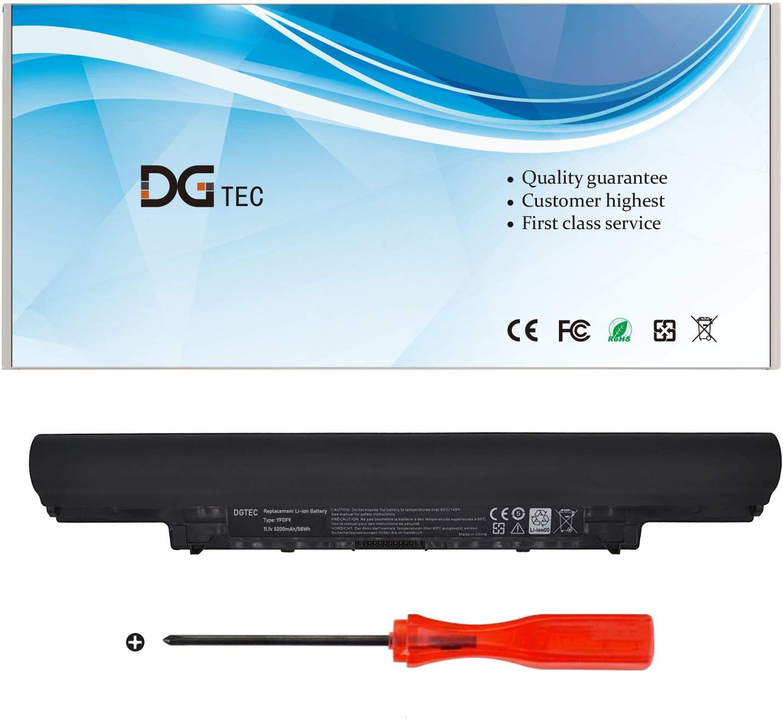 DGTEC New YFDF9 Laptop Battery for Dell Latitude 3340 3350 V131 2 Series 5MTD8 7WV3V H4PJP HGJW8 JR6XC VDYR8 YFOF9 (11.1V 65Wh)