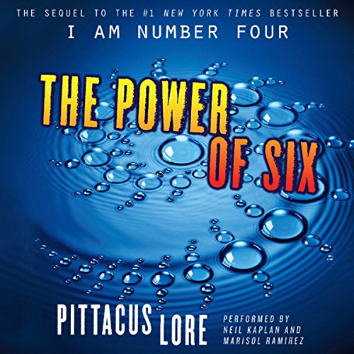The Power of Six audiobook cover art