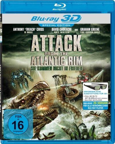Attack from the Atlantic Rim ( Atlantic Rim ) (3D & 2D) (Blu-Ray)