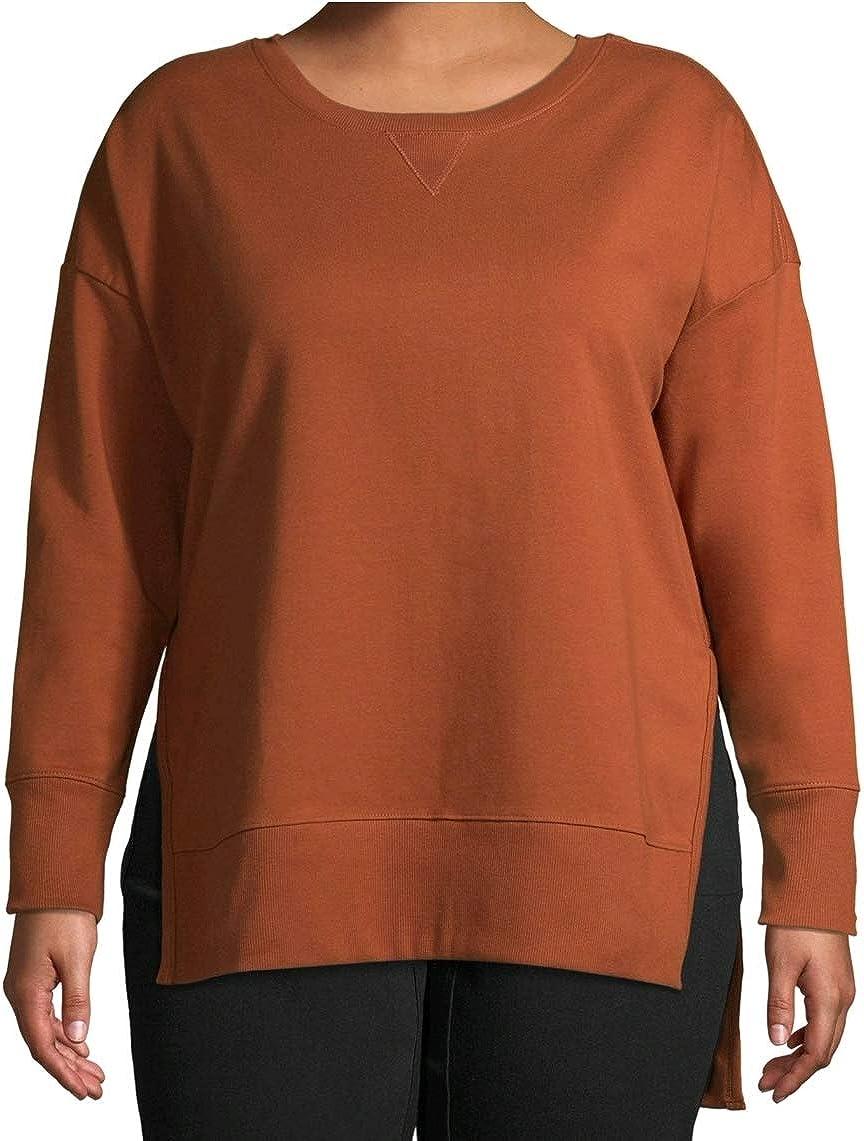 Cinnamon Spice Plus Size French Terry Sweatshirt
