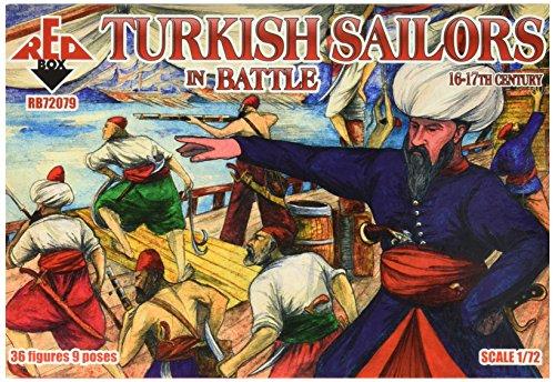 Red Box rb72079 – Modèle Kit Turkish Sailor dans Battle, 16–17E siècle, Gris