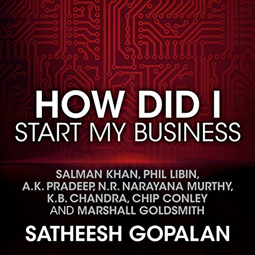 How Did I Start My Business audiobook cover art