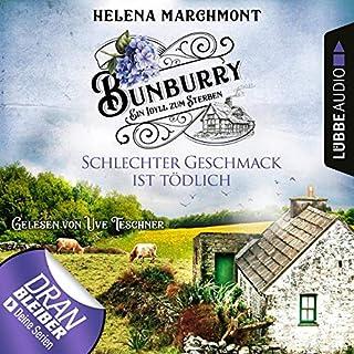Schlechter Geschmack ist tödlich     Bunburry - Ein Idyll zum Sterben 3              Autor:                                                                                                                                 Helena Marchmont                               Sprecher:                                                                                                                                 Uve Teschner                      Spieldauer: 3 Std. und 7 Min.     421 Bewertungen     Gesamt 4,4