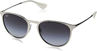 RB3539 Erika Round Metal Sunglasses