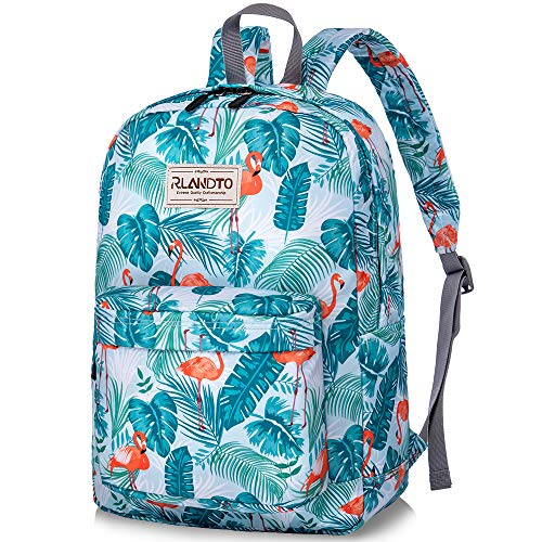 ZOMAKE School Backpack for Teens, Water Resistant Bookbags Lightweight Backpacks with Bottle Side Pockets