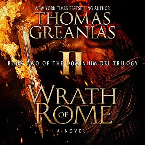 Wrath of Rome audiobook cover art