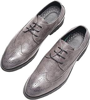 [SLJ] 革靴 ビジネスシューズ メンズ カジュアル 軽量 空気循環