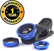 Cospex Mobile Phone 3 In1 Clip On Lens with Macro, Wide Angle, Fisheyes Lens