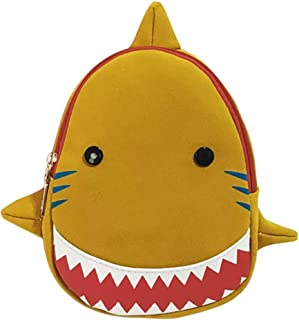 Fashion Kids Backpack Cute Cartoon Animal Bag Creative Shark Shape Canvas Bag Kindergarten Children School Bag