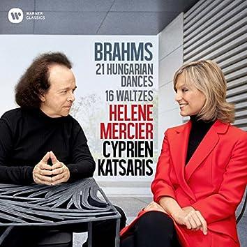 Brahms: 21 Hungarian Dances & 16 Waltzes for Piano Four Hands