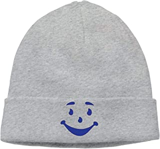 Christmas Fashion Warm Hat Momen's Smiley Man Face Classic Street Dance Black Beanies Knit Hat