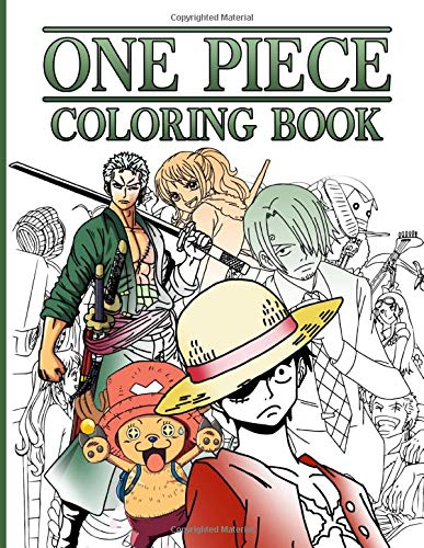 One Piece Coloring Book: The Crayola One Piece Coloring Books For Adults - (Book For Adults & Teens)