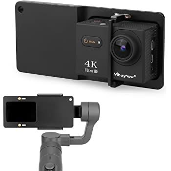 Xiaoyi and Other Action Cameras Durable Color : Silver DJI OSMO Action CAOMING Aluminum Alloy Motorcycle Fixed Holder Mount with Tripod Adapter /& Screw for GoPro HERO8 Black//Max //HERO7