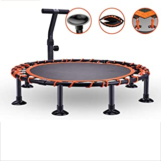 Trampoline Mini Sports Trampoline, Suitable for Sports And Outdoor, Yoga And Other Aerobics Indoor trampoline (Color : Ora...