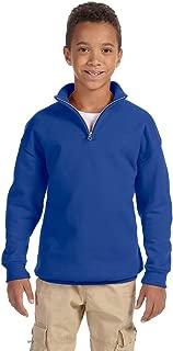 Boys 1/4-Zip Cadet Collar Sweatshirt