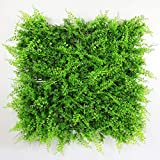 ULAND Artificial Boxwood Hedge Panels, Grass Greenery Backdrop Ivy Garden Fence, Home Wall Decorations, Pack of 6pcs 20'x20'