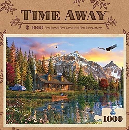 MasterPieces Time Away Eagle View Puzzle (1000 Piece) by MasterPieces