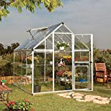 Harmony 6' x 8' Greenhouse with Starter Kit
