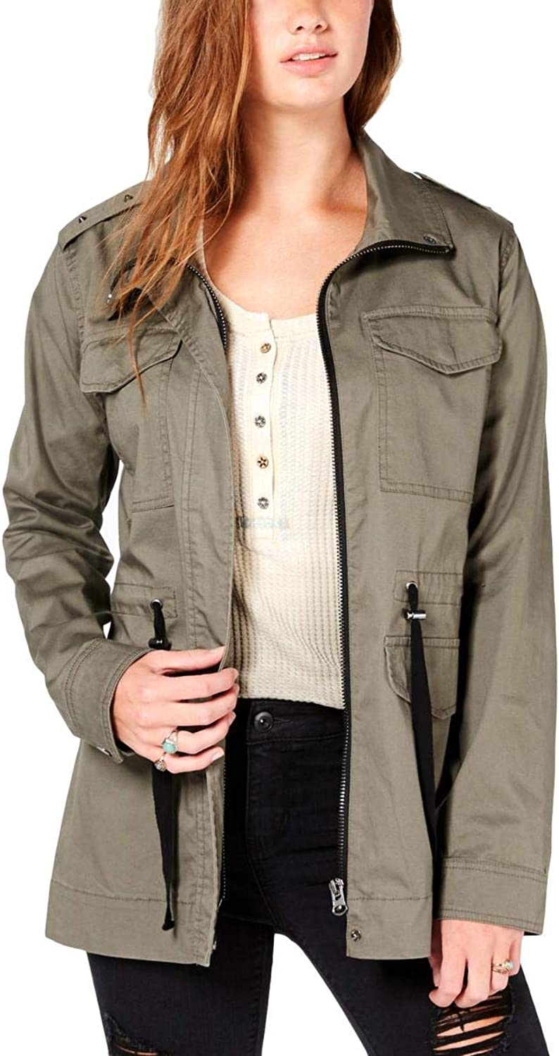 American Rag Womens Spring MidLength Utility Jacket